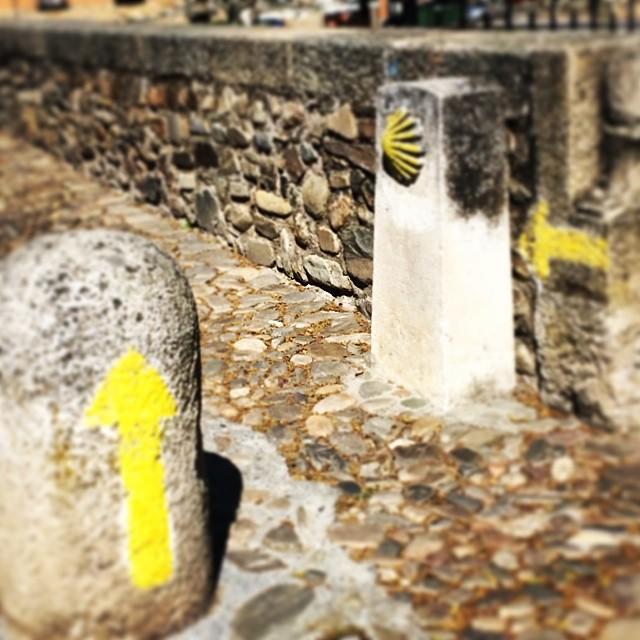 camino-frances-Molinaseca-El Bierzo-señal