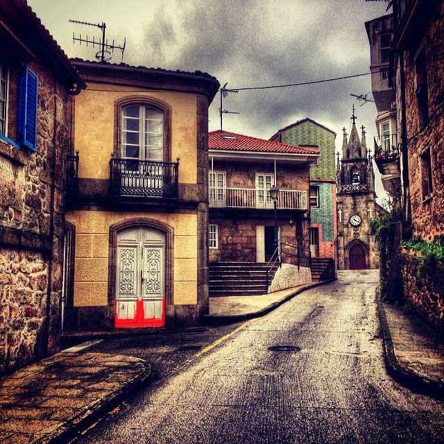 corcubión-village