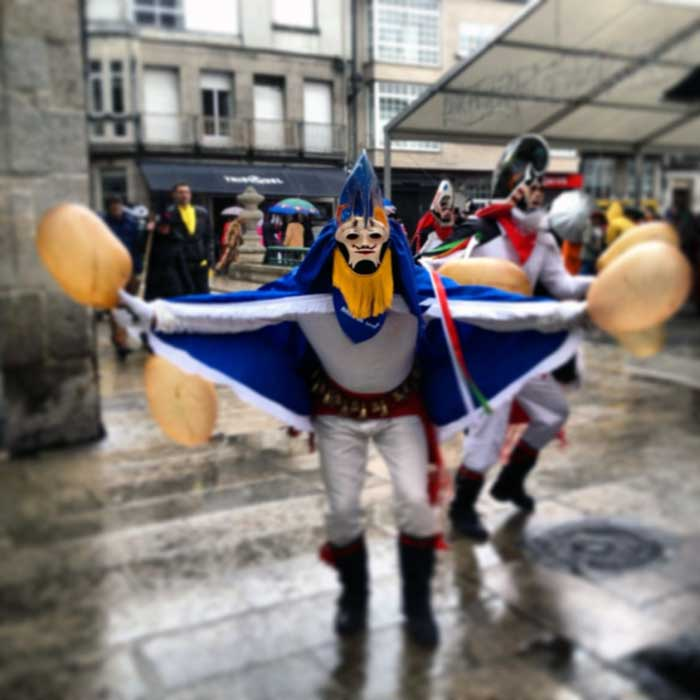 Carnival In Galicia On The Camino003