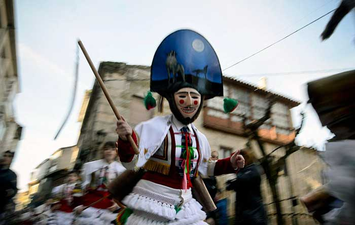 Carnival In Galicia On The Camino00