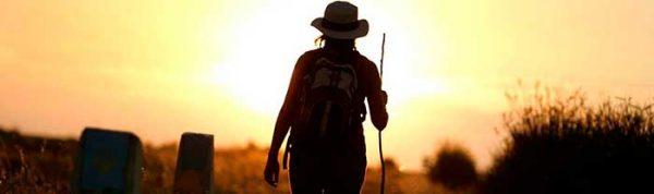 Camino-de-santiago-peregrina